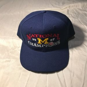 Michigan Wolverines 1997 Rose Bowl Champions Hat